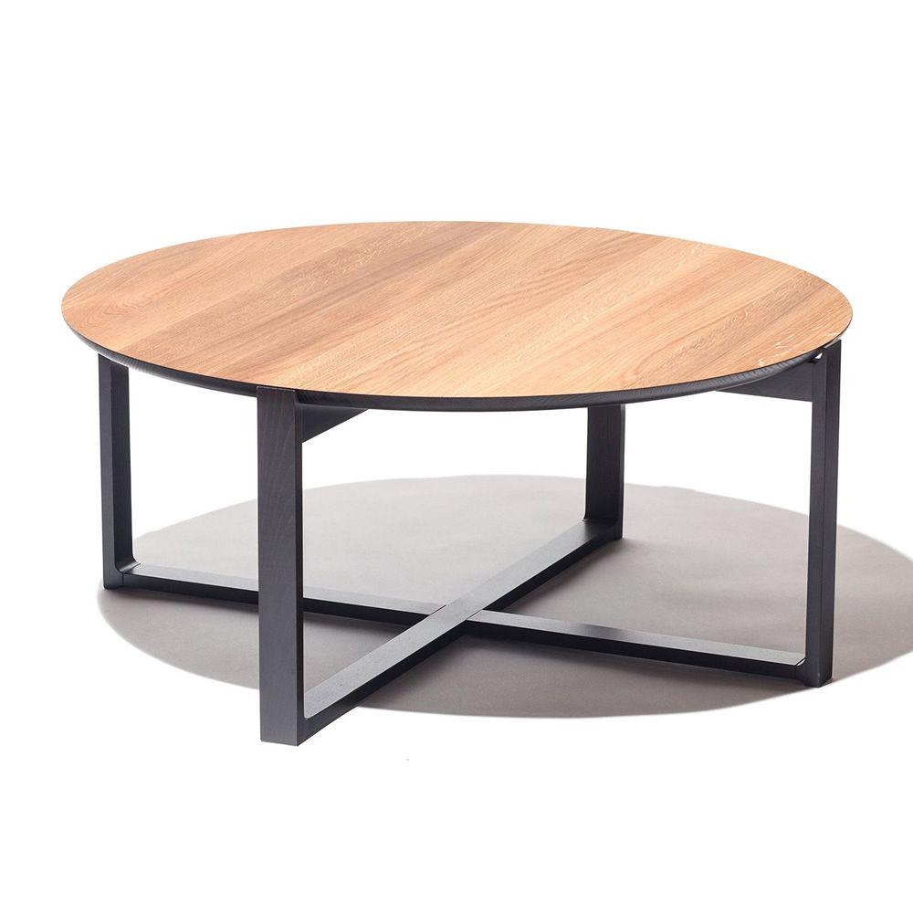 delta coffee 724 runder beistelltisch ton aus holz. Black Bedroom Furniture Sets. Home Design Ideas