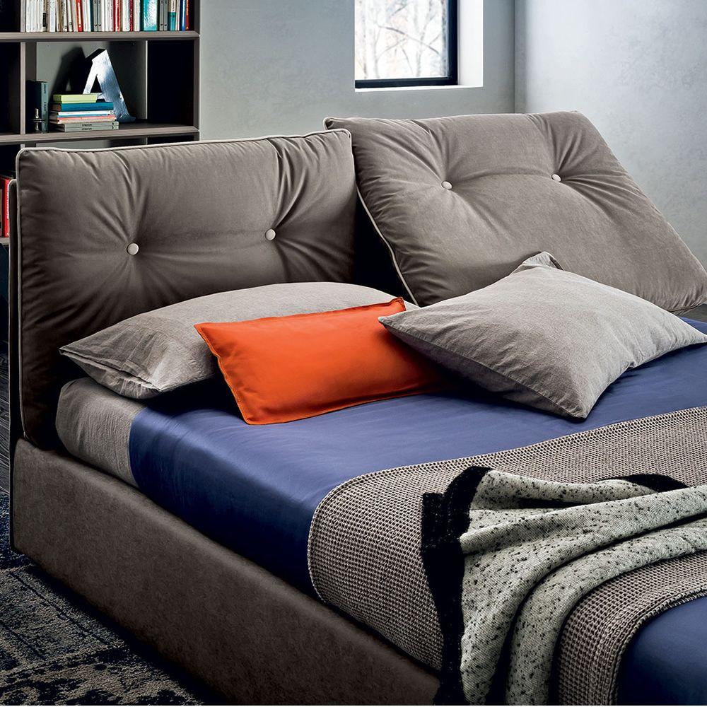 scarlett gepolstertes doppelbett ganz abziehbar mit bettkasten mit verschiedenen bez gen. Black Bedroom Furniture Sets. Home Design Ideas