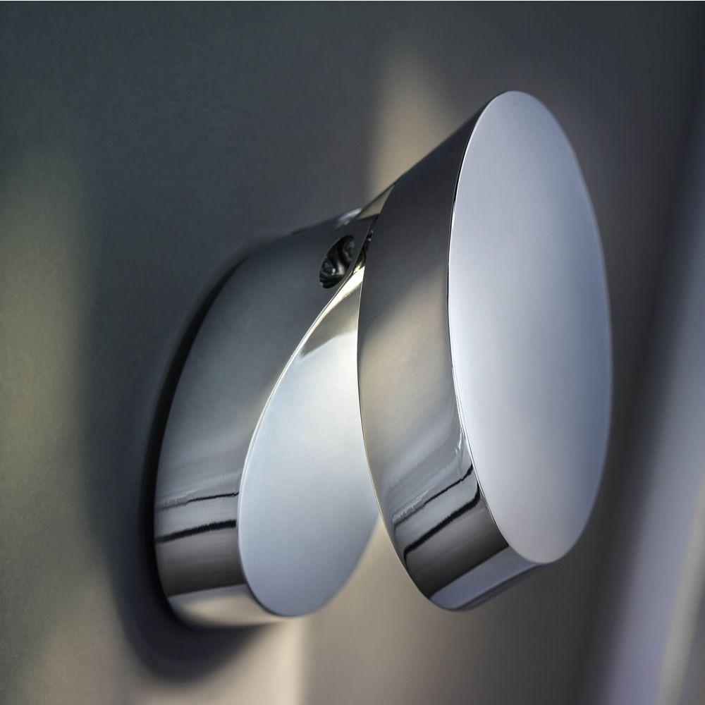 Pin-Up: Applique murale design, orientable, en métal, ampoule à LED ...