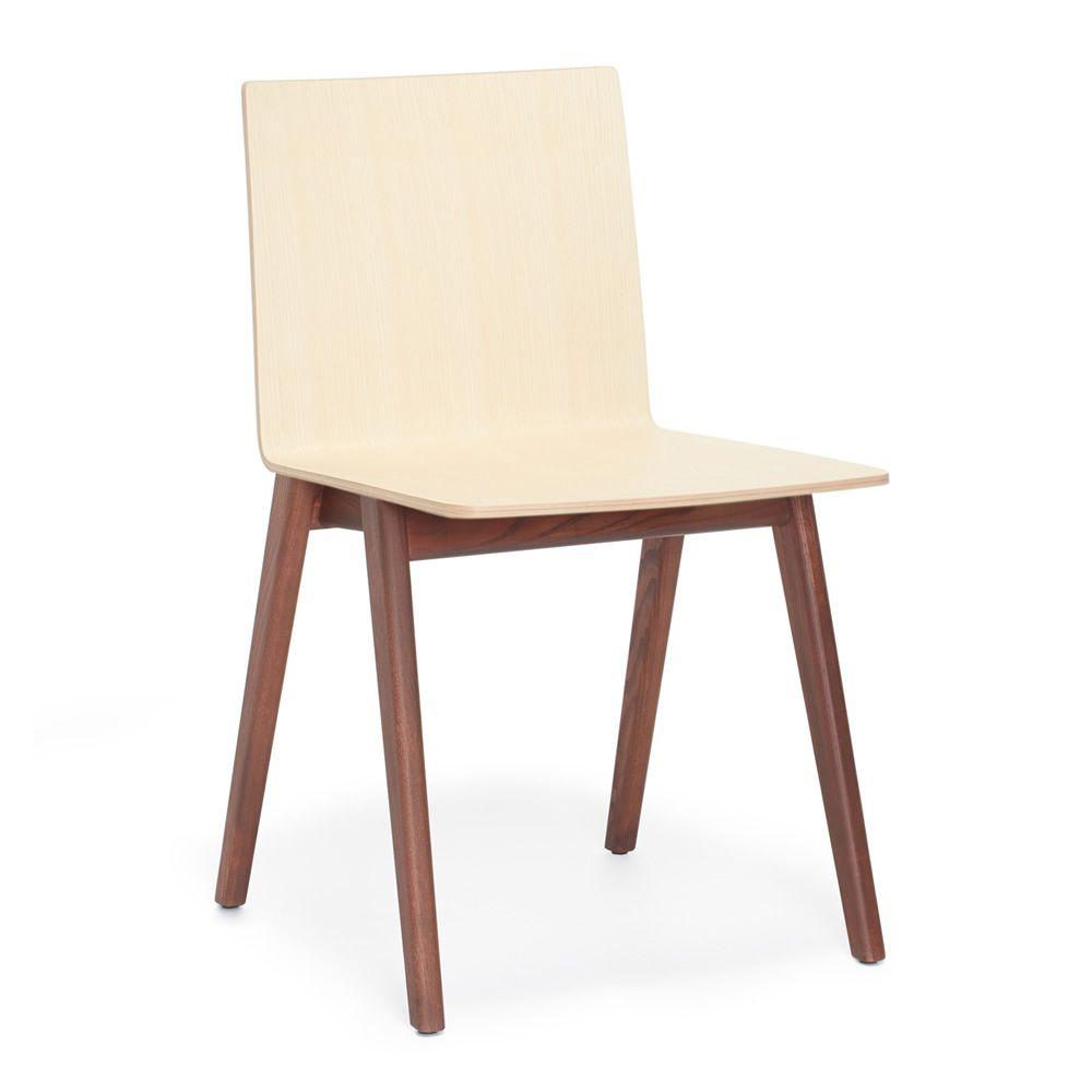osaka 2810 chaise design pedrali en bois de fr ne sediarreda. Black Bedroom Furniture Sets. Home Design Ideas