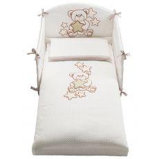 Meggie set - Set letto Pali con paracolpi, piumotto sfoderabile e federa cuscino