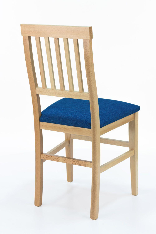 mu36 chaise moderne en bois assise rembourr e disponible en plusieurs teintes et rev tements. Black Bedroom Furniture Sets. Home Design Ideas