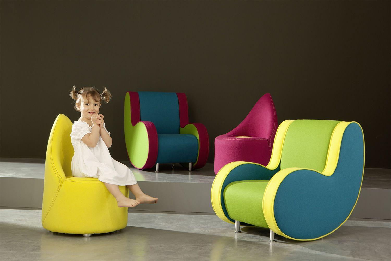 Ata baby poltrona di design adrenalina per bambini for Poltrone bambini