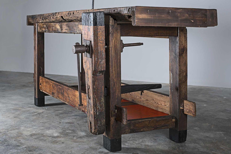 Workbench tavolo banco da falegname in legno 180x80 cm for Banco da falegname progetto