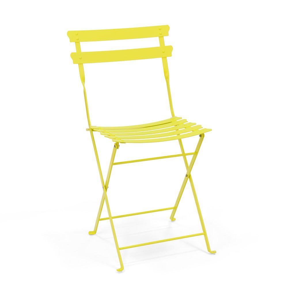 pretty chaise pliante pour jardin en m tal sediarreda. Black Bedroom Furniture Sets. Home Design Ideas
