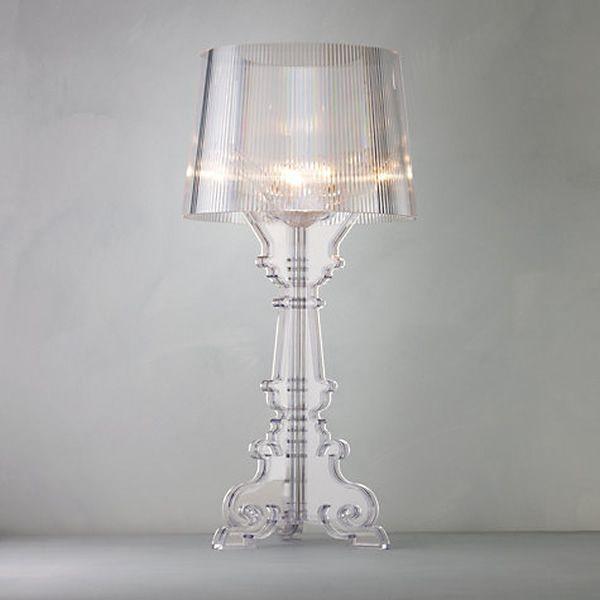 Bourgie Lampe de table Kartell, en polycarbonate et ABS, différentes couleurs Sediarreda