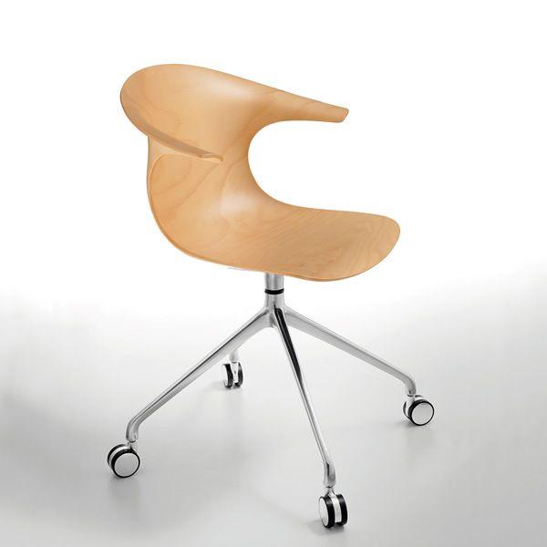 loop wr drehbarer stuhl infiniti aus metall sitz aus holz in verschiedenen farben verf gbar. Black Bedroom Furniture Sets. Home Design Ideas