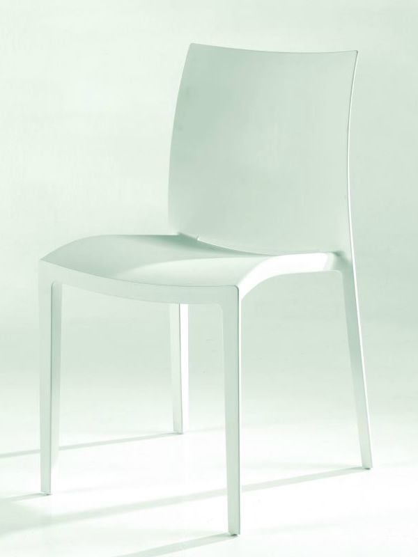 go sedia moderna di colico in polipropilene impilabile