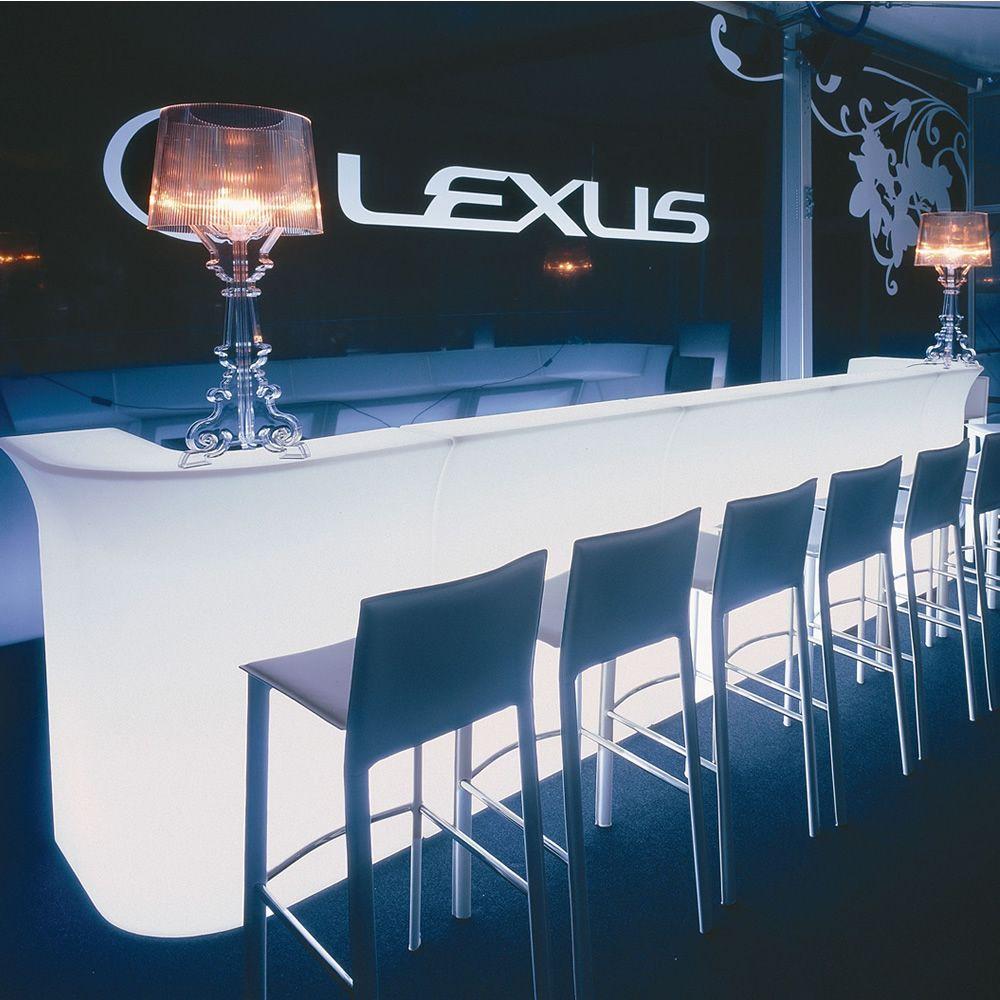 Jumbo Bar per Bar e Ristoranti - Bancone Bar in polietilene, modulare e luminoso, anche per ...