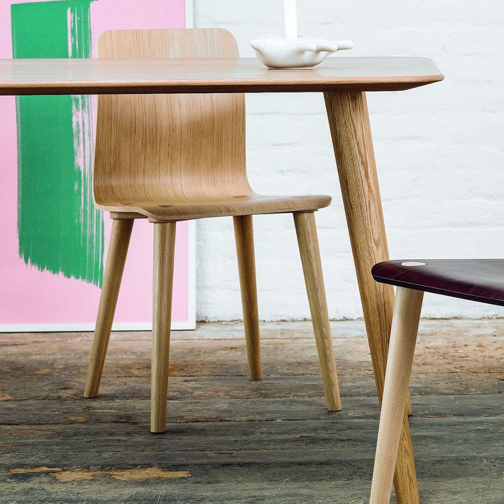Malm sedia ton in legno con seduta in legno sediarreda for Sedia di d annunzio