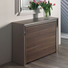 Archimede C - Console with folding table 170 x 90 cm, several colours