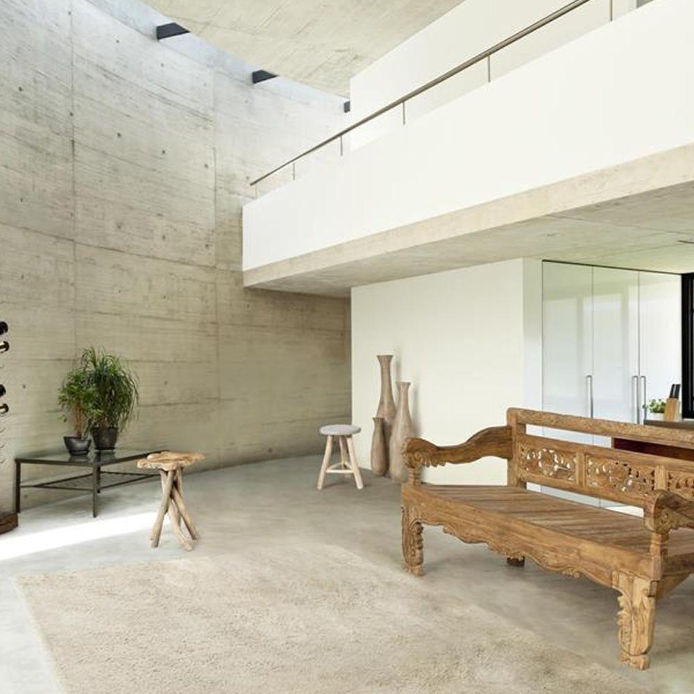 abidjan table basse en bois de teck naturel hauteur 50 cm sediarreda. Black Bedroom Furniture Sets. Home Design Ideas