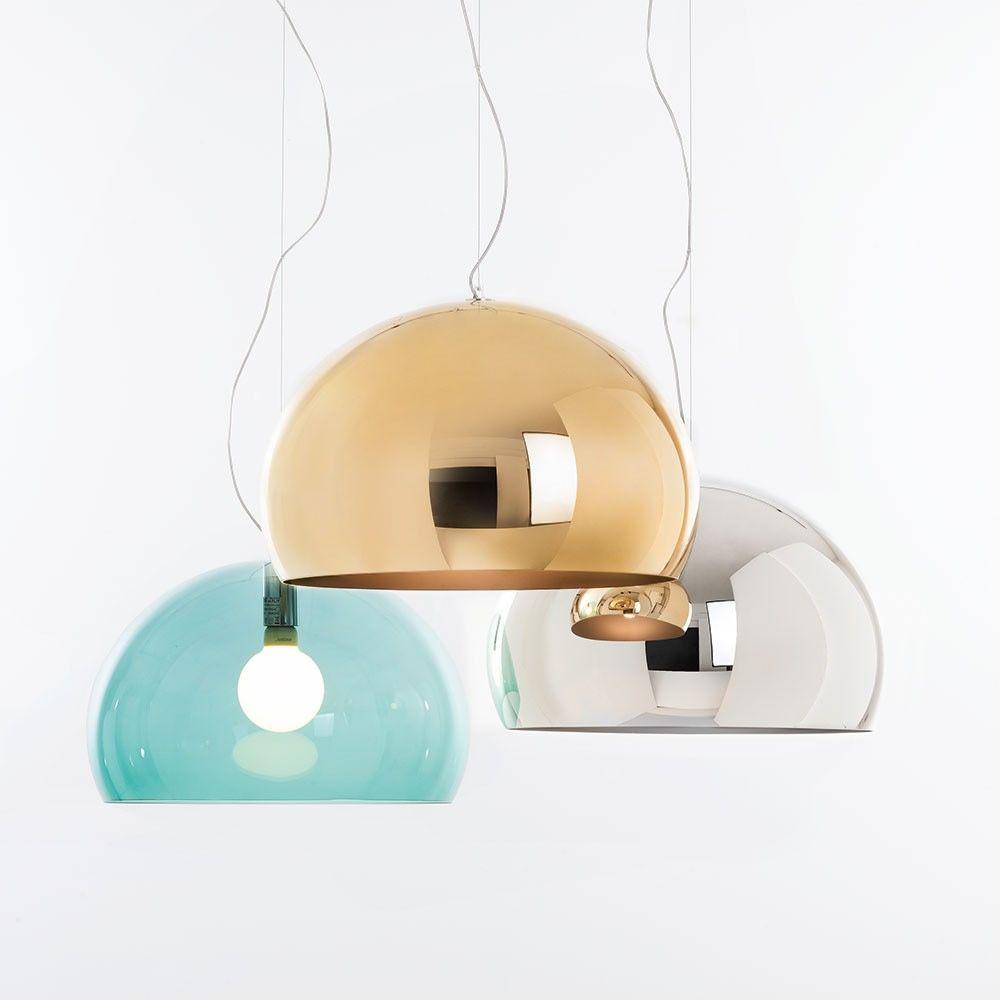 FL/Y Small - Designer Pendellampe Kartell, aus Methacrylat, in ...