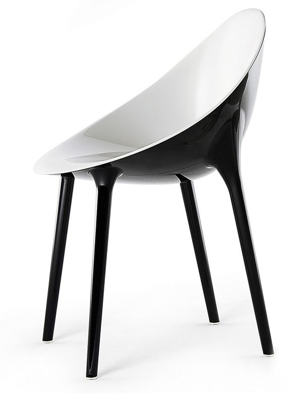 super impossible fauteuil kartell de design en polycarbonate bicolore sediarreda. Black Bedroom Furniture Sets. Home Design Ideas