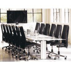 H09 ® Meeting Ex - Ergonomic office chair by HÅG, with lumbar cushion