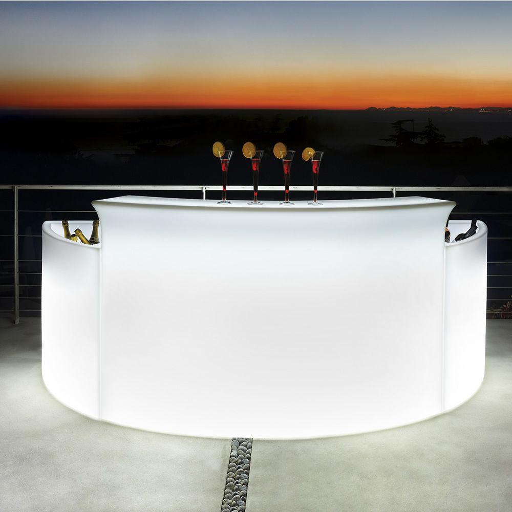 Bancone Bar Da Giardino break bar - polyethylene bar counter, bright and modular