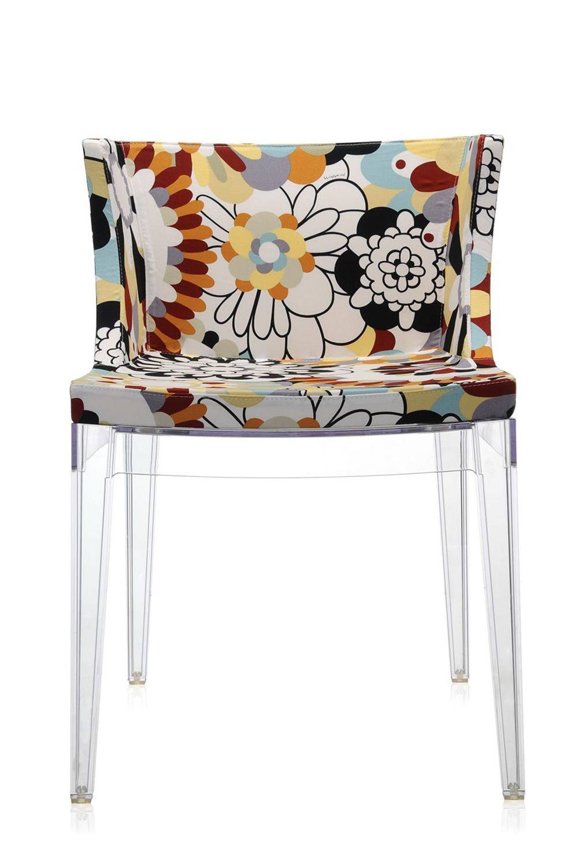 mademoiselle la mode petit fauteuil design de kartell structure en polycarbonate et assise. Black Bedroom Furniture Sets. Home Design Ideas