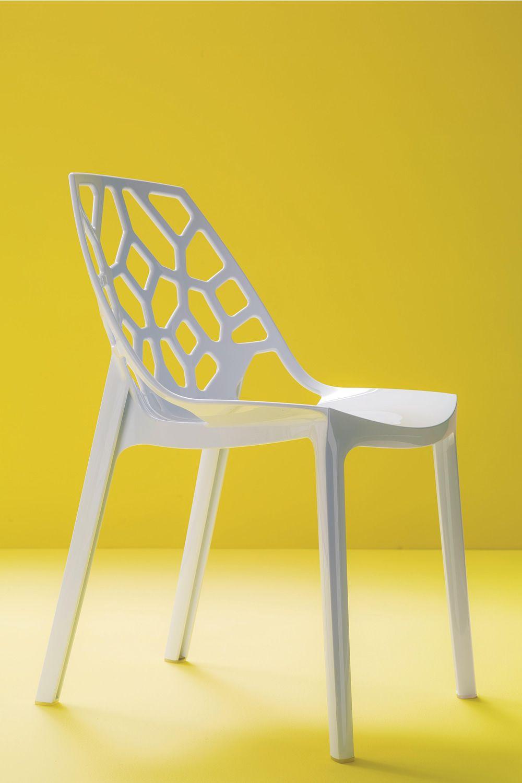 Spider off sedia di design bontempi casa impilabile in for Sedia di design