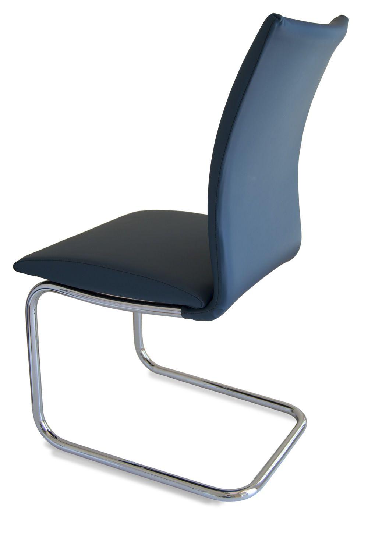 Swing Round Designer Stuhl Tonon mit Kufengestell aus