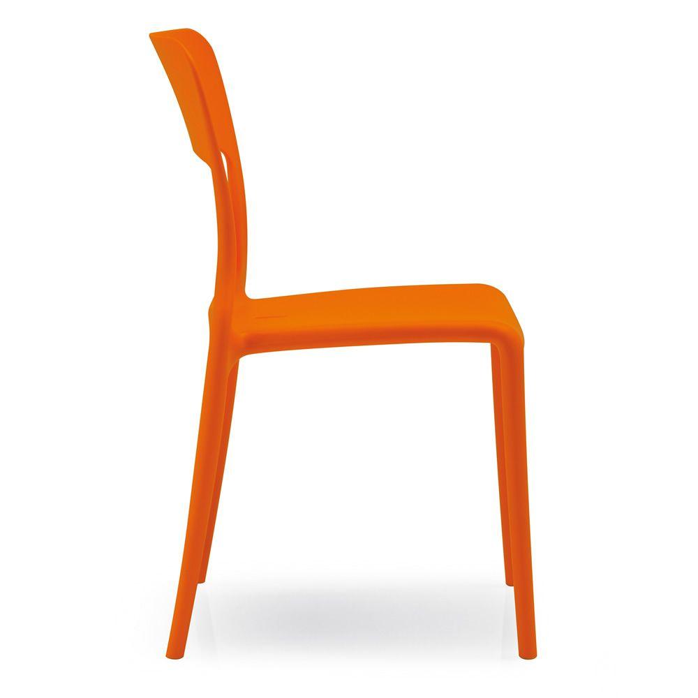 312 chaise empilable en polypropyl ne pour ext rieur sediarreda. Black Bedroom Furniture Sets. Home Design Ideas