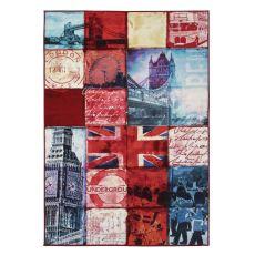 Artemisia London - Tapis modern avec immage imprimée