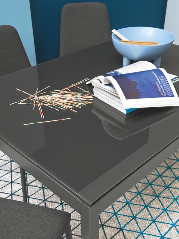 Cb4085 mv 110 snap outlet mesa extensible connubia for Mesa cristal 110 x 70