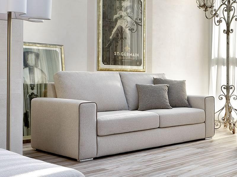 Icaro divano moderno a 2 posti 3 posti o 3 posti maxi for Lunghezza divano tre posti