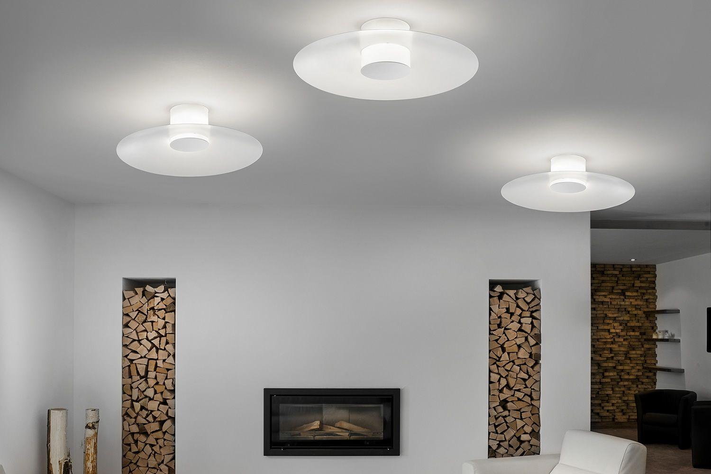 Thor lampada a soffitto o parete di design con paralume for Lampade di design