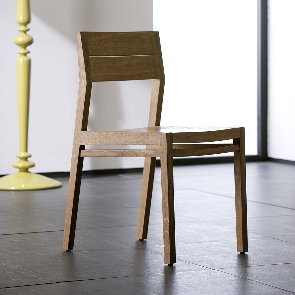 ex1 w stuhl ethnicraft aus eichenholz oder teakholz. Black Bedroom Furniture Sets. Home Design Ideas