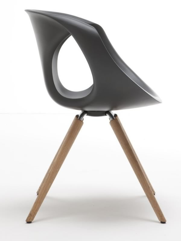 ... Up Chair W   Modern Chair With Wooden Structure And Polyrethane Seat By  Tonon ...