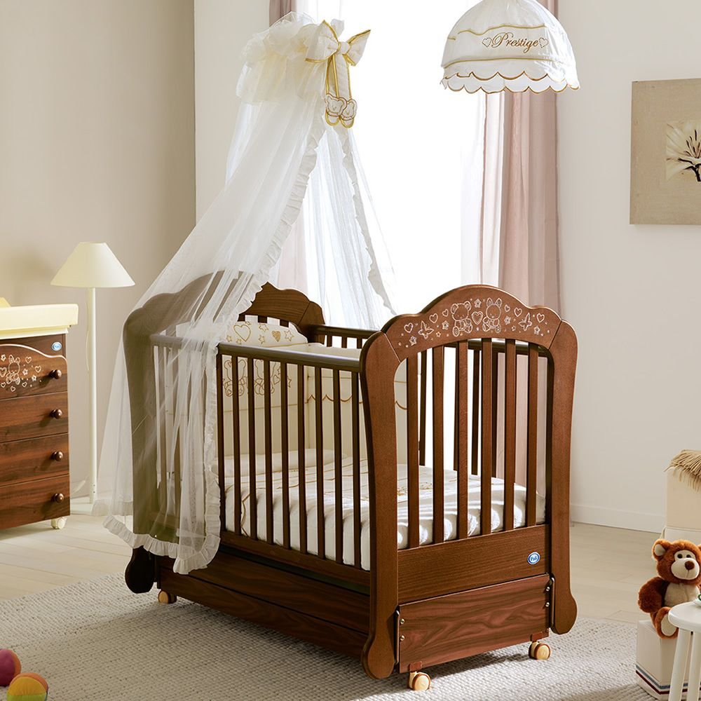 sofia schaukelbabybett pali aus holz mit gedeckter schublade in verschiedenen farben verf gbar. Black Bedroom Furniture Sets. Home Design Ideas