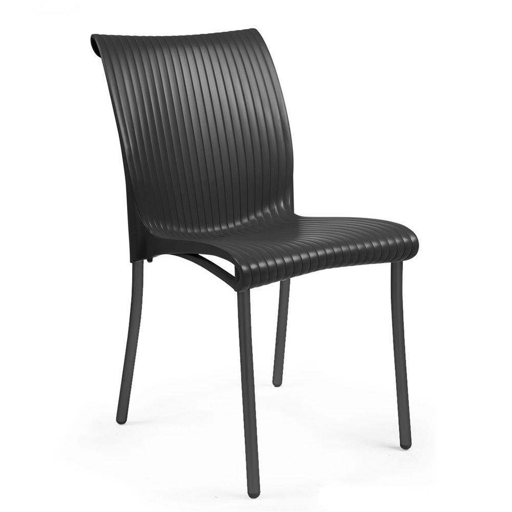 regina chaise en m tal et r sine empilable aussi pour jardin sediarreda. Black Bedroom Furniture Sets. Home Design Ideas