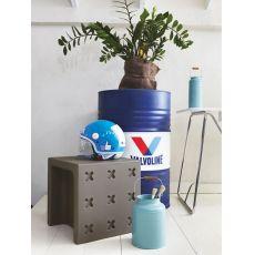 CB1271 Crossover - Pouf - Hocker - Couchtisch - Kindersessel Connubia - Calligaris aus Polyethylen, in verschiedenen Farben verfügbar, auch für Garten