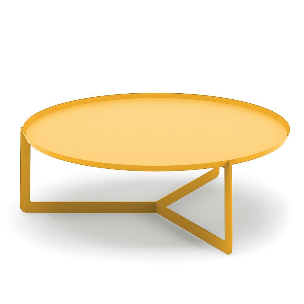round3 promo table design ronde en m tal diam tre 80 cm sediarreda. Black Bedroom Furniture Sets. Home Design Ideas