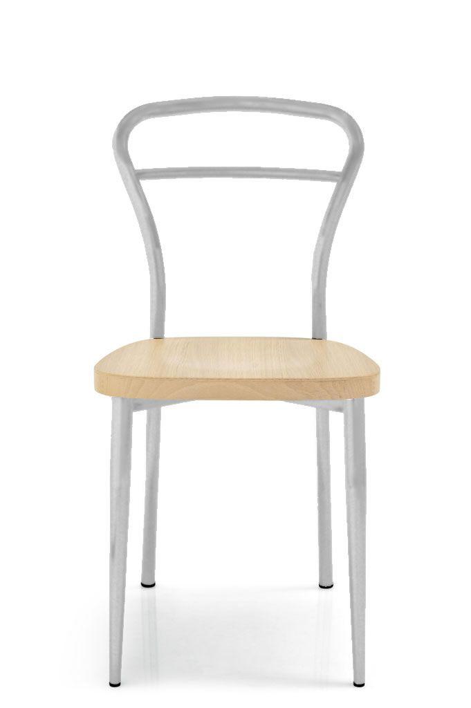 Cs184 diva sedia calligaris in metallo seduta legno - Sedia diva calligaris ...