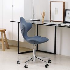 Active - Variér® Active™ chair, height-adjustable with swivelling metal frame, padded seat, available in several colours