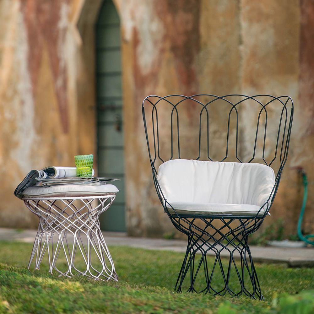 Re-Trouvé P: Emu armchair made of metal, for garden - Sediarreda ...