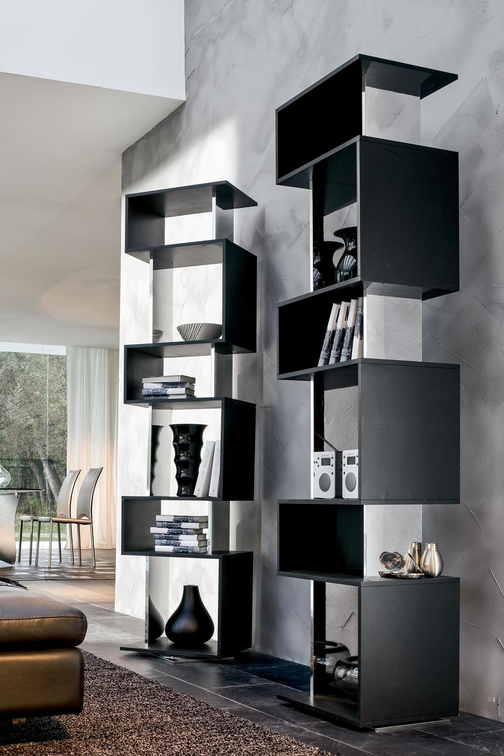 osuna 7241 biblioth que pivotant tonin casa en plaqu en diff rentes couleurs sediarreda. Black Bedroom Furniture Sets. Home Design Ideas