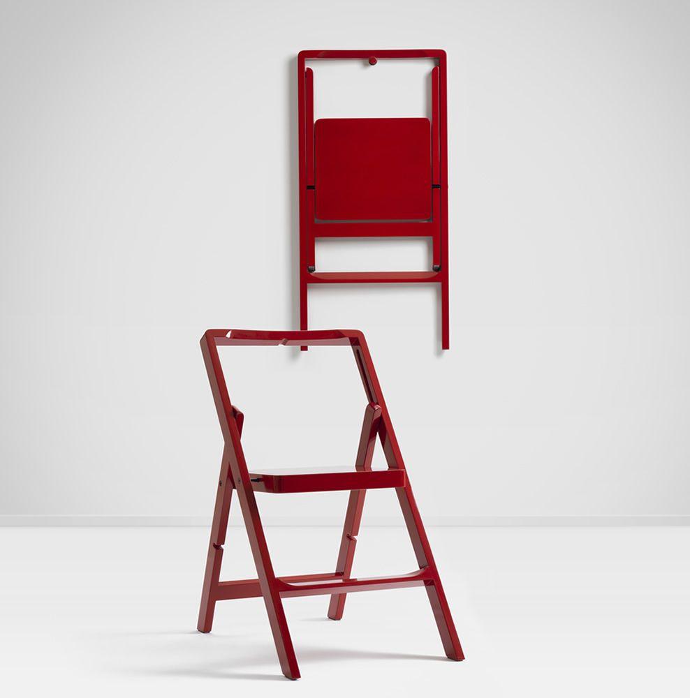 Mini Step Chaise Pliante En Bois Disponible