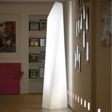 Manhattan - Slide floor lamp en polyethylen, also for garden