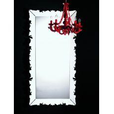 Novecento Iron.r - Espejo rectangular de Colico Design, 184x94 cm, de acero disponible en distintos colores
