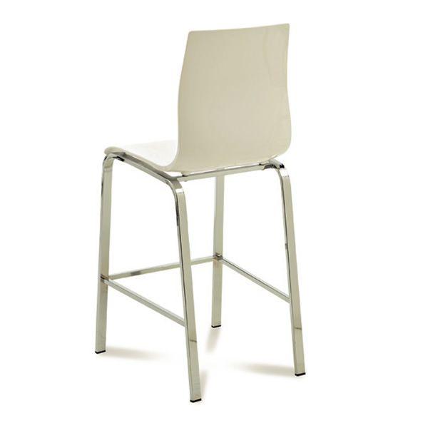 gel r sgb hocker domitalia aus metall und methacrylat sitzh he 65 cm sediarreda. Black Bedroom Furniture Sets. Home Design Ideas