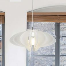 Cigno - Pendant lamp made of methacrylate, different colours available