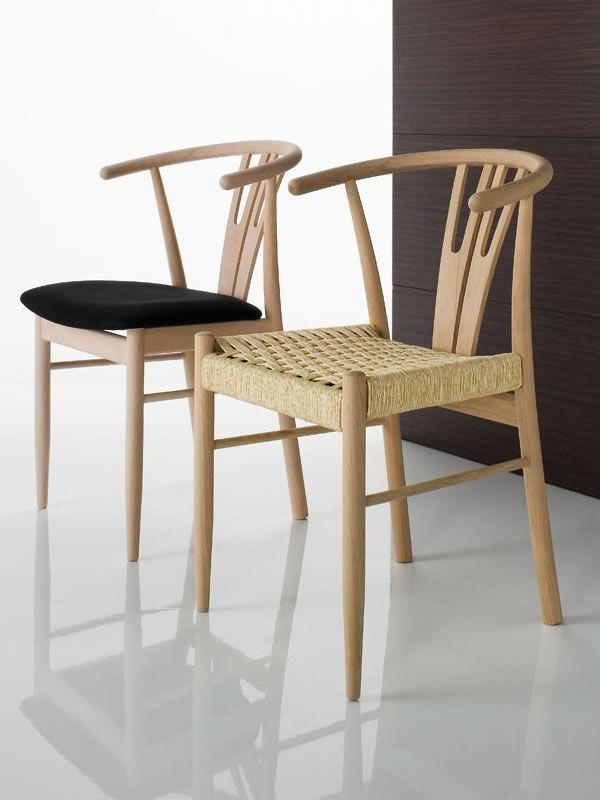 Vega sedia ecologica in legno seduta in ecopelle for Sedie decorate a mano