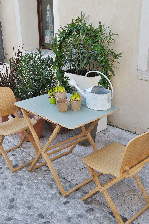 Treee bar tavolo di design pieghevole piano 90x60 cm sediarreda - Tavolo pieghevole con sedie ...