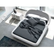 7863 Sleepy - Design double bed, padded, by Tonin Casa, different sizes