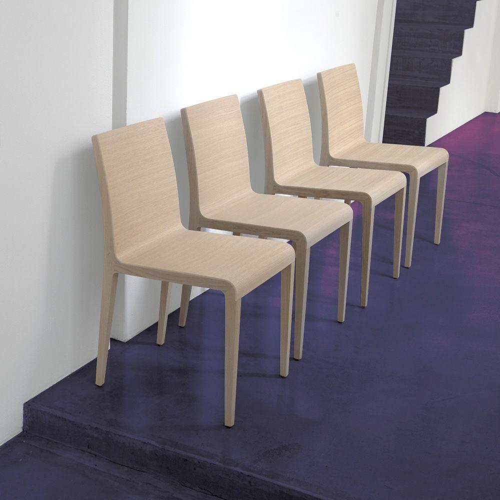 young 420 chaise design pedrali en ch ne massif sediarreda. Black Bedroom Furniture Sets. Home Design Ideas