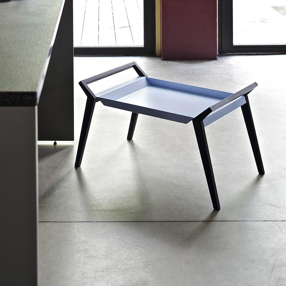 tiffany table basse design de bontempi casa en bois avec plateau en m tal disponible en. Black Bedroom Furniture Sets. Home Design Ideas