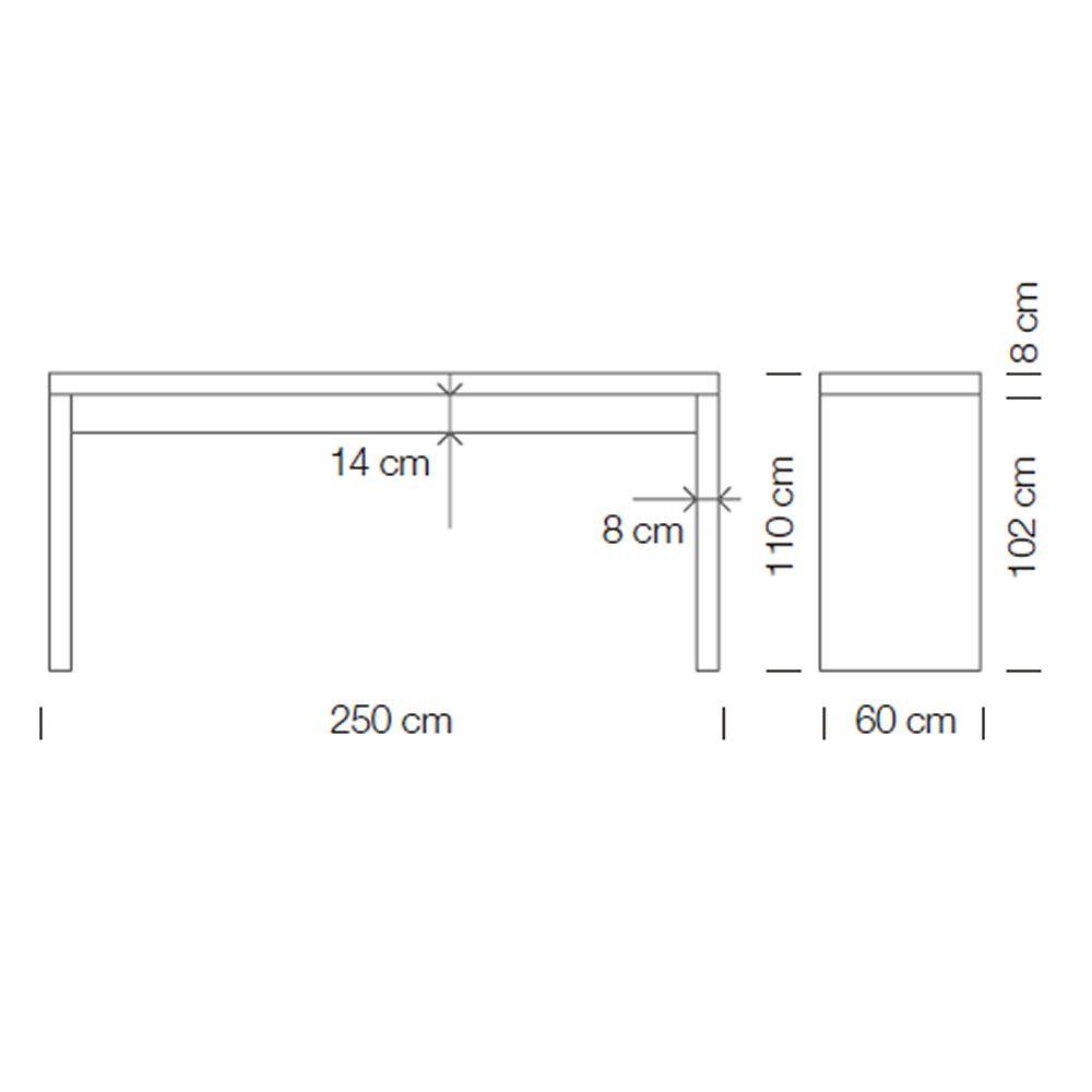 Dimensioni Standard Tavolo Cucina deck