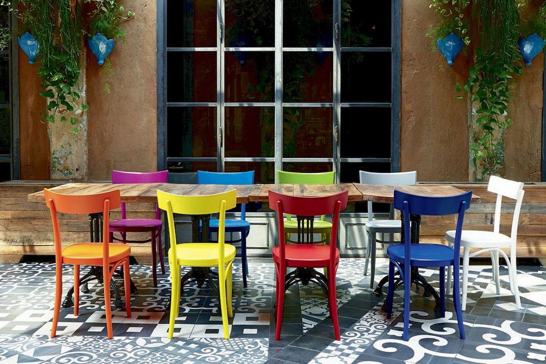 Brera sedia colico in legno massello di faggio diversi for Sedia moderna design